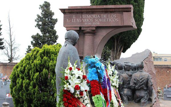 Monumento a los militares soviéticos fallecidos durante la Guerra Civil en España - Sputnik Mundo