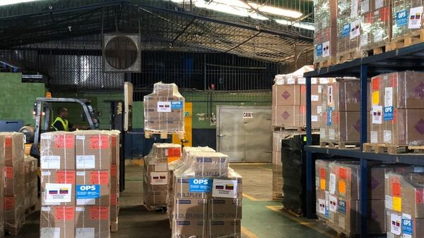 La ayuda humanitaria de Rusia a Venezuela - Sputnik Mundo