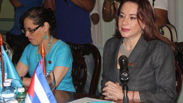Maria Fernanda Espinosa, presidenta de la Asamblea General de la ONU - Sputnik Mundo