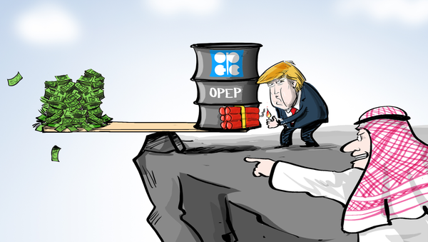 ¿Y ahora qué? Los saudíes ponen en jaque la condición del dólar estadounidense - Sputnik Mundo