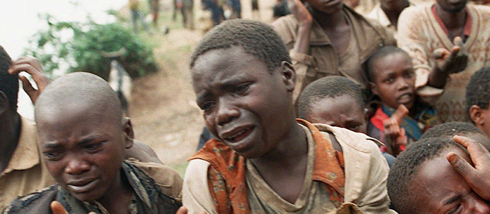 Niños ruandeses en la frontera con Zaire (archivo) - Sputnik Mundo, 1920, 07.04.2019