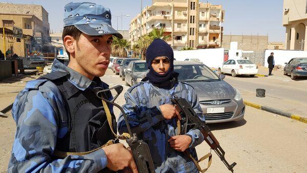 Combatientes del ejército de Jalifa Haftar (archivo) - Sputnik Mundo