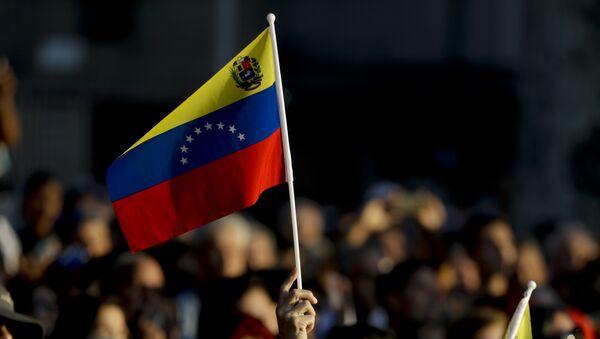 Manifestación en Caracas, Venezuela - Sputnik Mundo