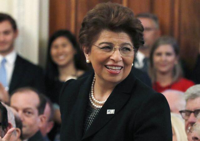 Jovita Carranza, foto de archivo