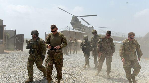 Soldados estadounidenses en Afganistán (archivo) - Sputnik Mundo