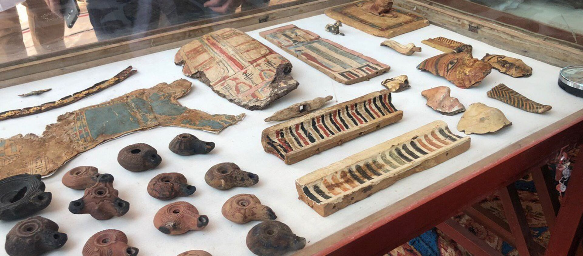 Los hallazgos arqueológicos en una antigua tumba en Egipto (archivo) - Sputnik Mundo, 1920, 19.06.2019
