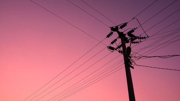 Poste eléctrico (imagen referencial) - Sputnik Mundo