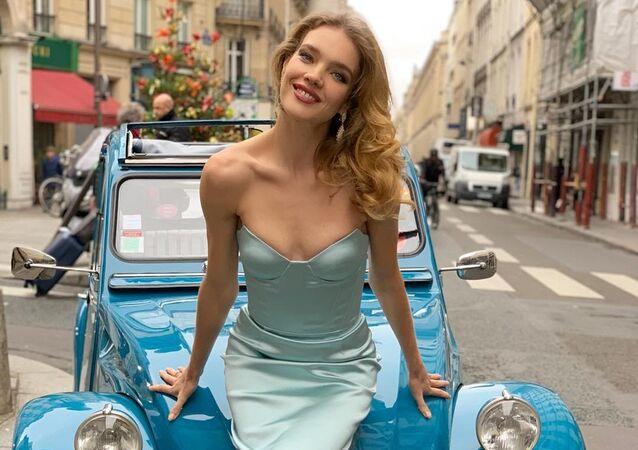 Natalia Vodiánova, supermodelo rusa