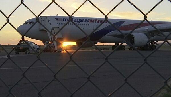 Un avión de Malaysia Airlines - Sputnik Mundo