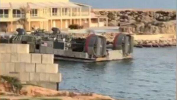 Vídeo de la evacuación de los militares de EEUU desde Trípoli - Sputnik Mundo