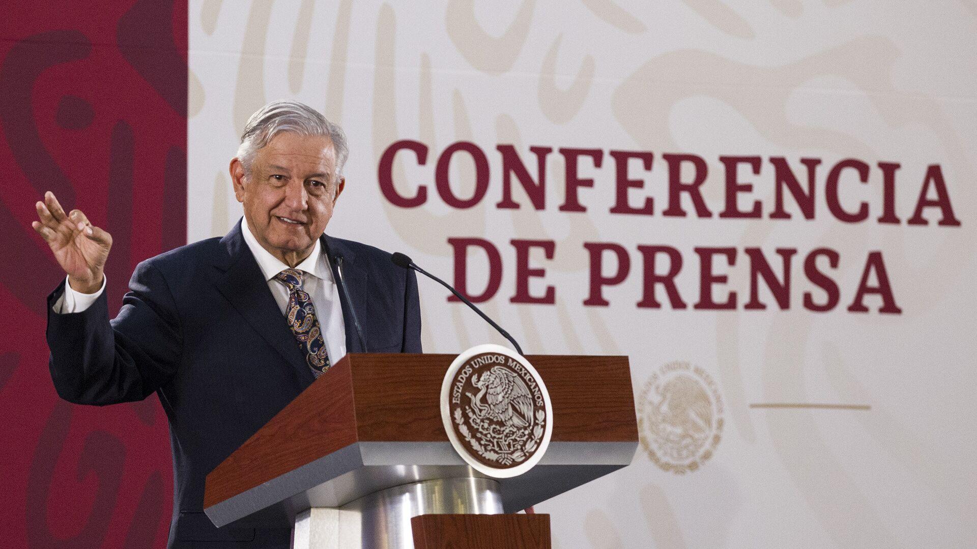 Andrés Manuel López Obrador, presidente de México - Sputnik Mundo, 1920, 15.09.2021
