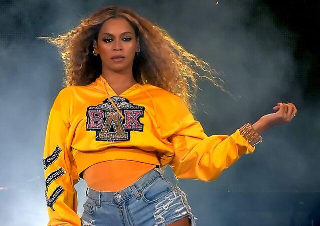 Beyoncé en el festival Coachella 2018
