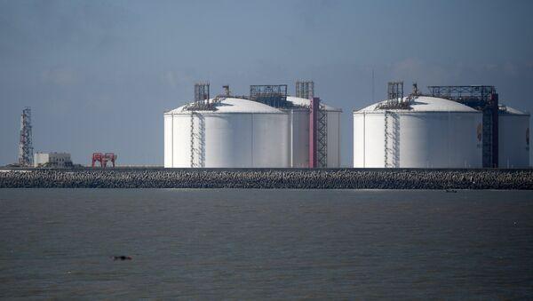 Reservas de gas en China (archivo) - Sputnik Mundo