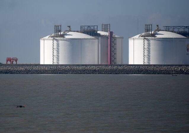 Reservas de gas en China (archivo)