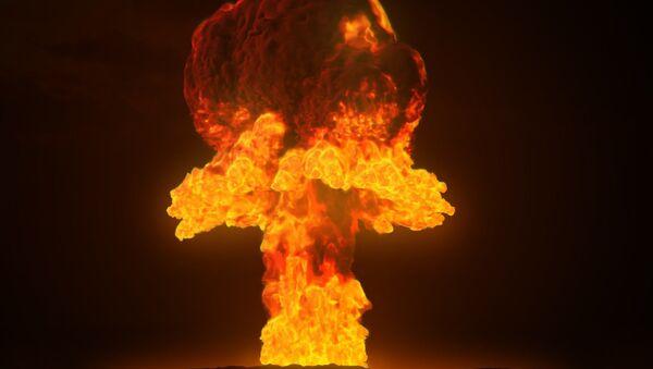 Explosión nuclear (imagen referencial) - Sputnik Mundo