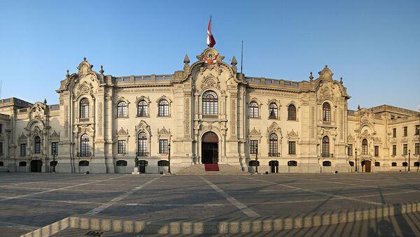 Palacio de Gobierno de Perú - Sputnik Mundo