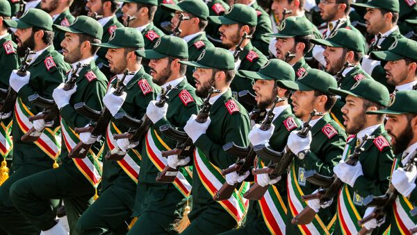 La Guardia Revolucionaria de Irán (archivo) - Sputnik Mundo