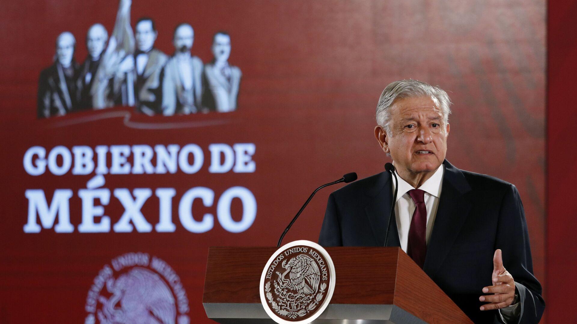 Andrés Manuel López Obrador, presidente de México - Sputnik Mundo, 1920, 14.09.2021