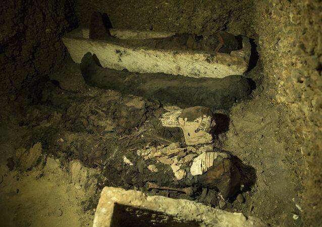 Momias egipcias (archivo)
