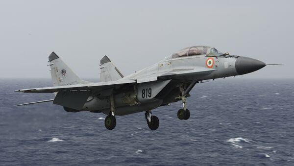 Un MiG-29K indio - Sputnik Mundo