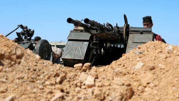 Los militares en Trípoli, Libia - Sputnik Mundo