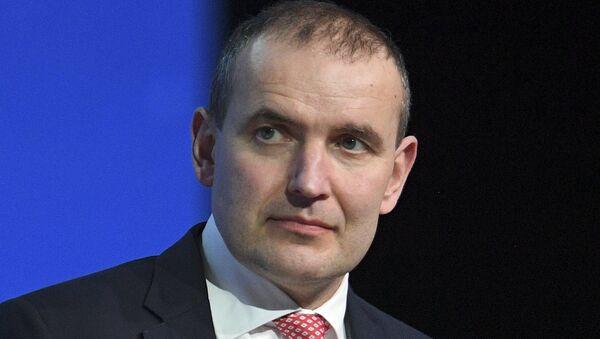Gudni Jóhannesson, presidente de Islandia - Sputnik Mundo
