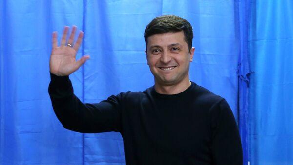 Volodímir Zelenski, presidente de Ucrania (archivo) - Sputnik Mundo