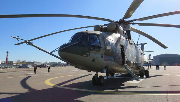 Helicóptero Mi-26T2V - Sputnik Mundo