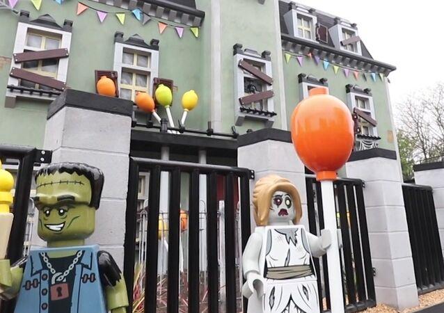 Una nueva y monstruosa atracción espera a los visitantes de Legoland en el Reino Unido