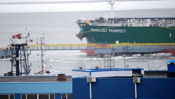 El imponente buque tanque ruso Mendeleev Prospect - Sputnik Mundo
