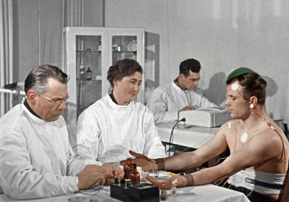 El primer hombre en el espacio: Yuri Gagarin