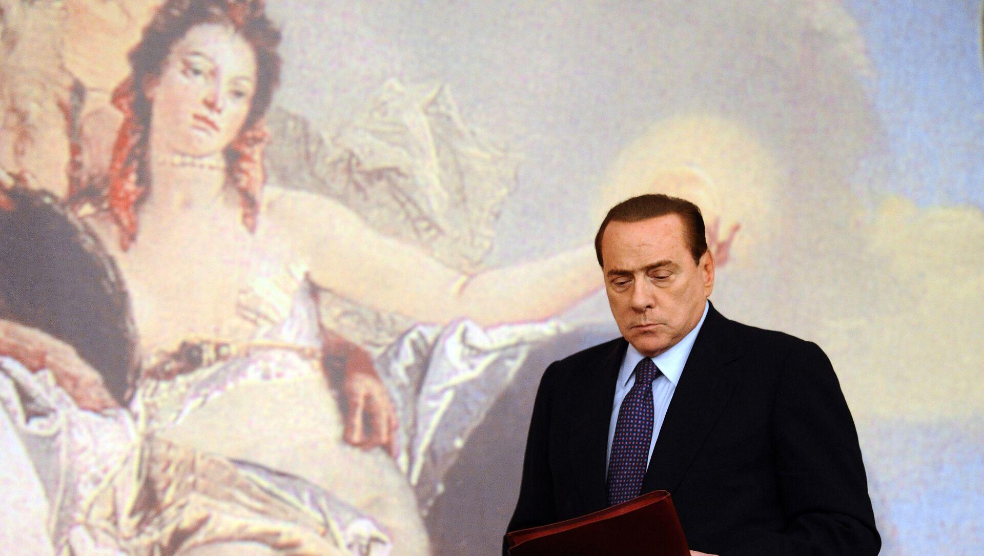 Ex primer ministro de Italia, Silvio Berlusconi - Sputnik Mundo, 1920, 11.04.2019