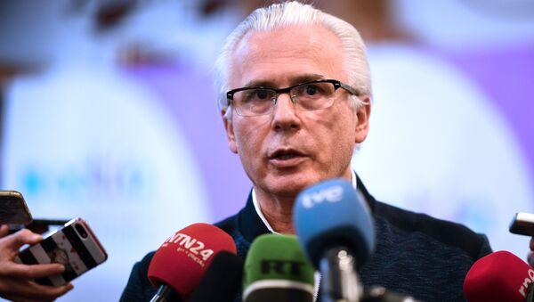 Baltasar Garzón, coordinador internacional de la defensa de Julian Assange - Sputnik Mundo