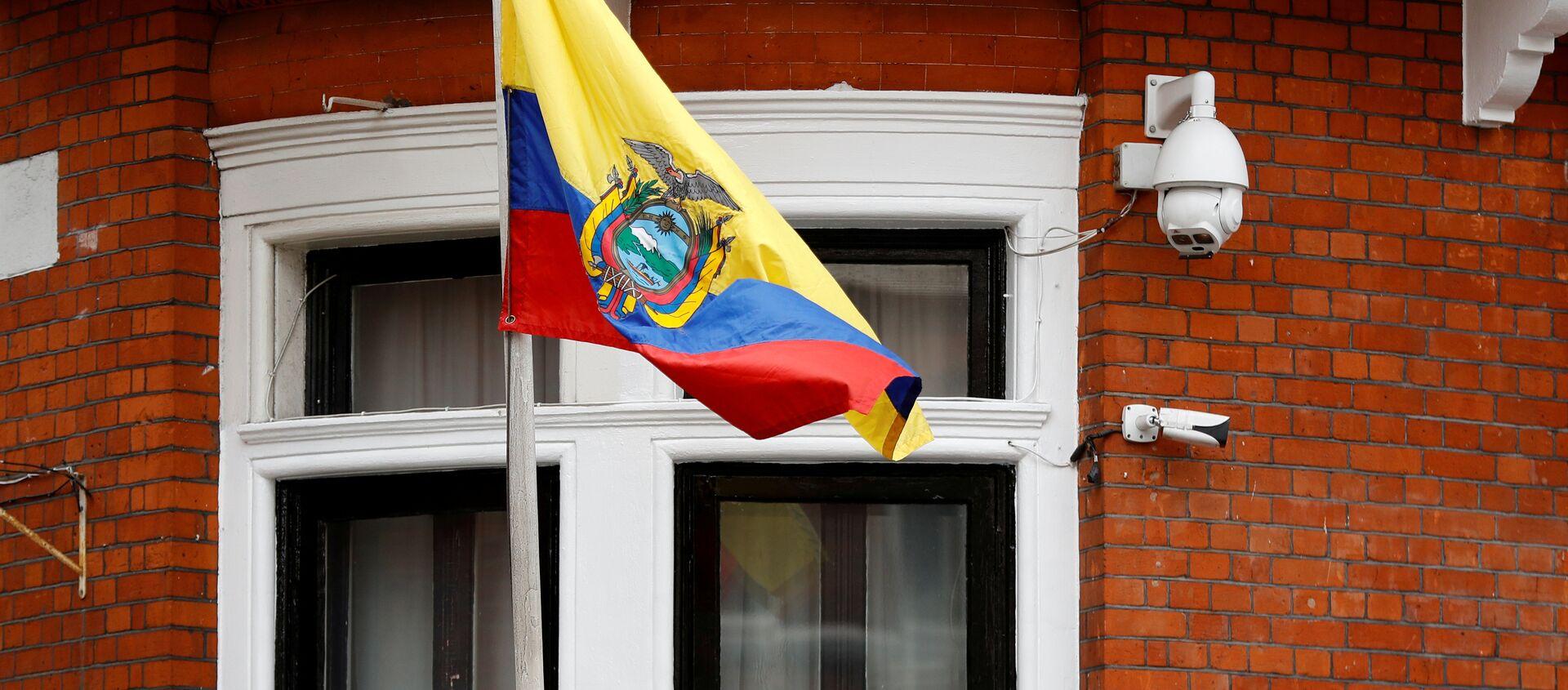 Embajada de Ecuador en Londres - Sputnik Mundo, 1920, 11.04.2019