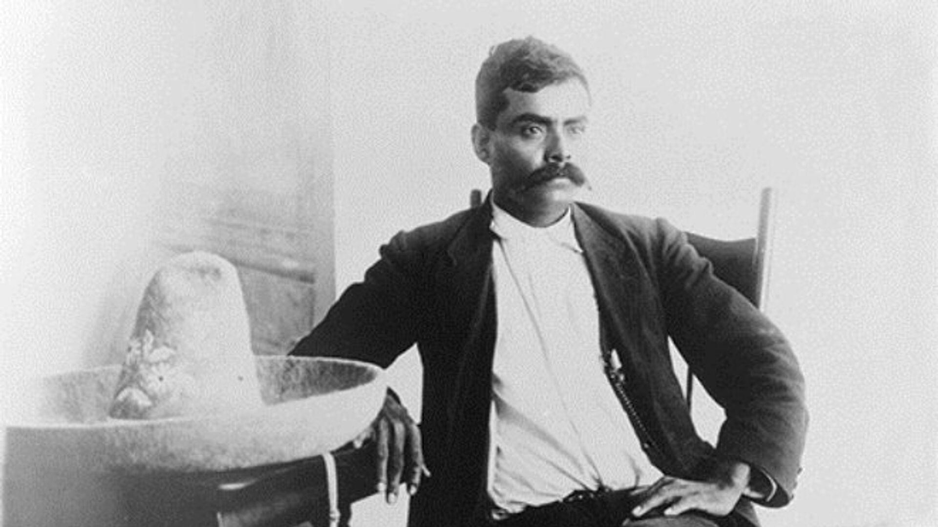 Emiliano Zapata en la Ciudad de México - Sputnik Mundo, 1920, 13.04.2021