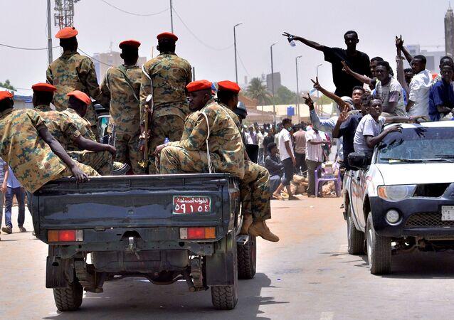 Militares sudaneses
