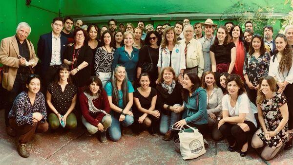 Representantes de la cumbre social paralela a la futura COP 25, 11 de abril de 2018, Chile - Sputnik Mundo