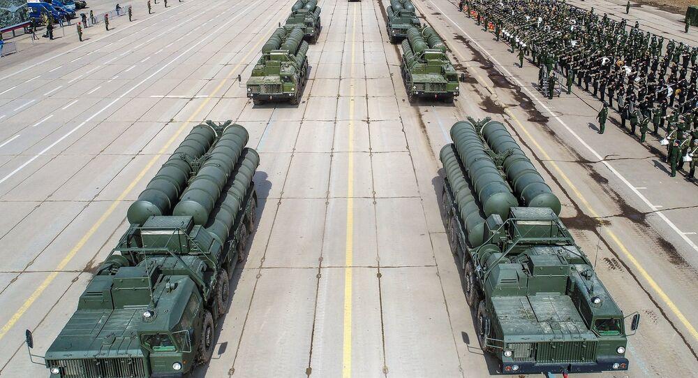 Los sistemas S-400 rusos