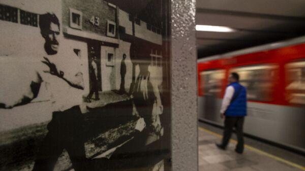 Fotografía de la masacre del 10 de junio del 1971 en el metro Normal - Sputnik Mundo
