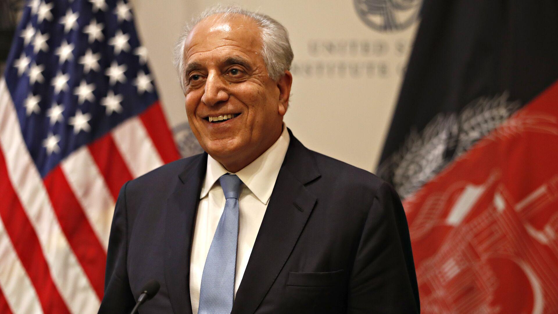 Zalmay Khalilzad, enviado especial de EEUU para Afganistán - Sputnik Mundo, 1920, 10.07.2021
