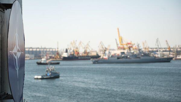 Maniobras navales de la OTAN Sea Shield en el mar Negro (archivo) - Sputnik Mundo