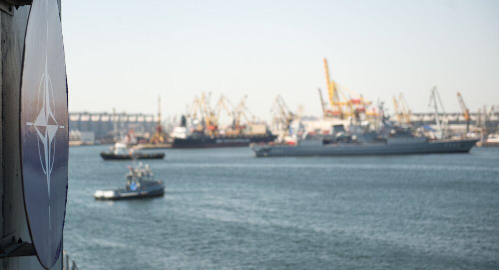 Maniobras navales de la OTAN Sea Shield en el mar Negro (archivo)