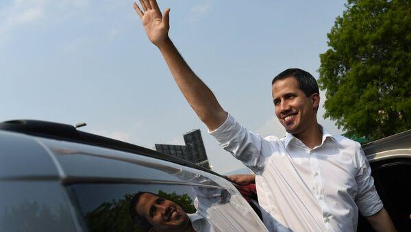 Juan Guaidó, lider opositor venezolano (archivo) - Sputnik Mundo