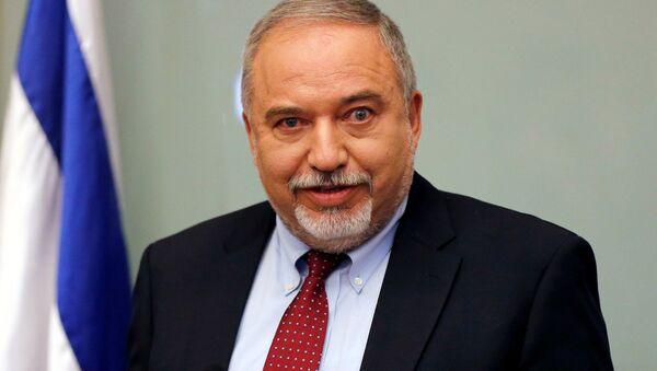 Avigdor Lieberman, político israelí, exministro de Defensa (archivo) - Sputnik Mundo