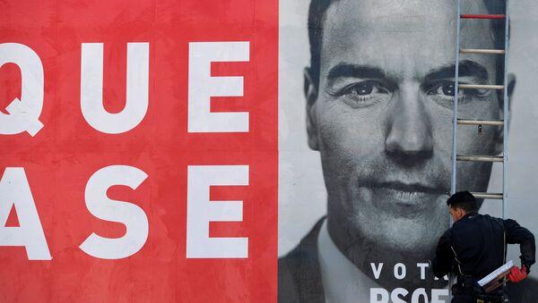 Cartel electroral de PSOE - Sputnik Mundo