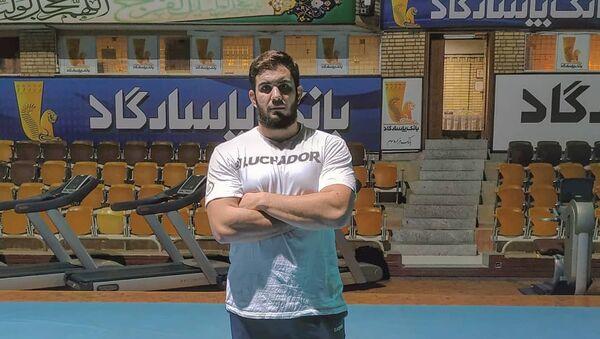 Catriel Muriel, atleta de la selección argentina de lucha libre - Sputnik Mundo