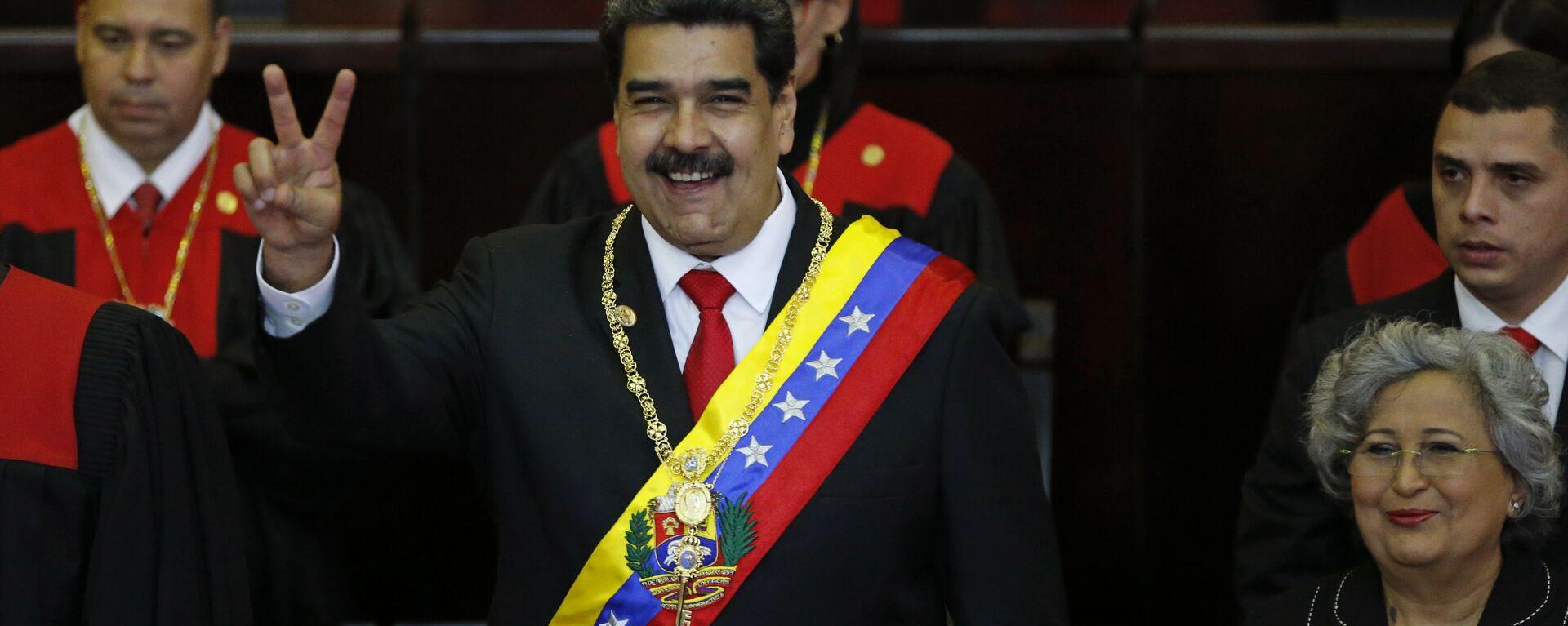 Nicolás Maduro asume su segundo mandato presidencial  - Sputnik Mundo, 1920, 12.05.2021