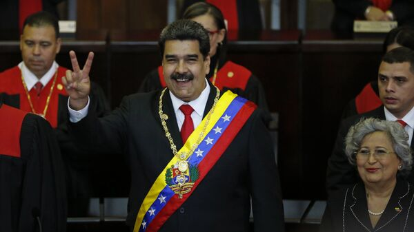 Nicolás Maduro asume su segundo mandato presidencial  - Sputnik Mundo