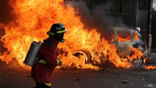 Protestas en Caracas (2017) - Sputnik Mundo