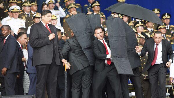 Intento de magnicidio frustrado contra el presidente de Venezuela, Nicolás Maduro (archivo) - Sputnik Mundo